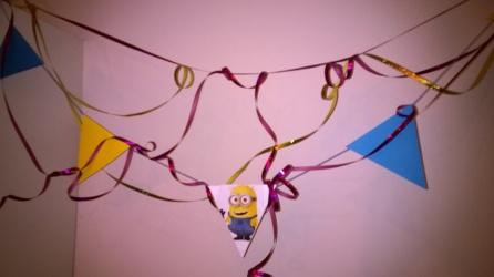 Minions Birthday Geburtstag Bunting