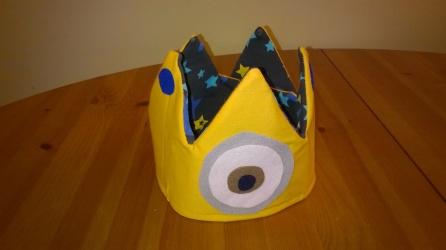 Minions Krone Geburtstagskrone Geburtstag