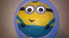 Minions Torte Cake Geburtstag