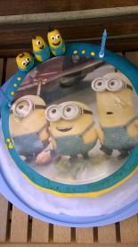 Minions Torte Geburtstag Cake