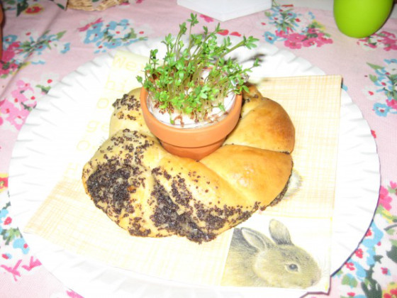 süß Nest Ostern Frühling Sprin