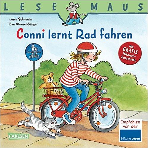 Conni lernt Radfahren Buch Kinder Lesemaus
