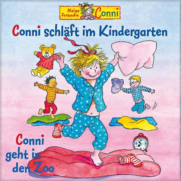 Conni schläft im Kindergarten geht in den Zoo