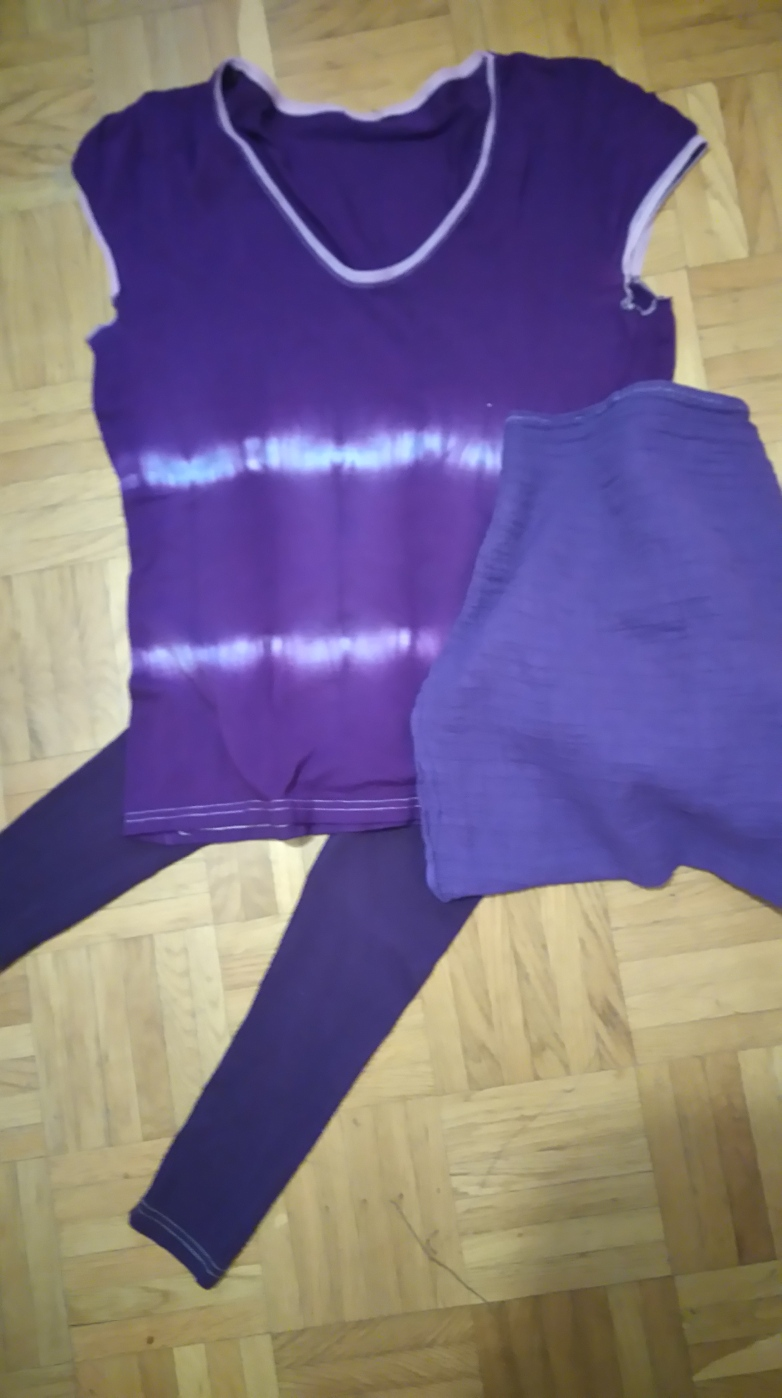gefaerbt Shirt Leggings
