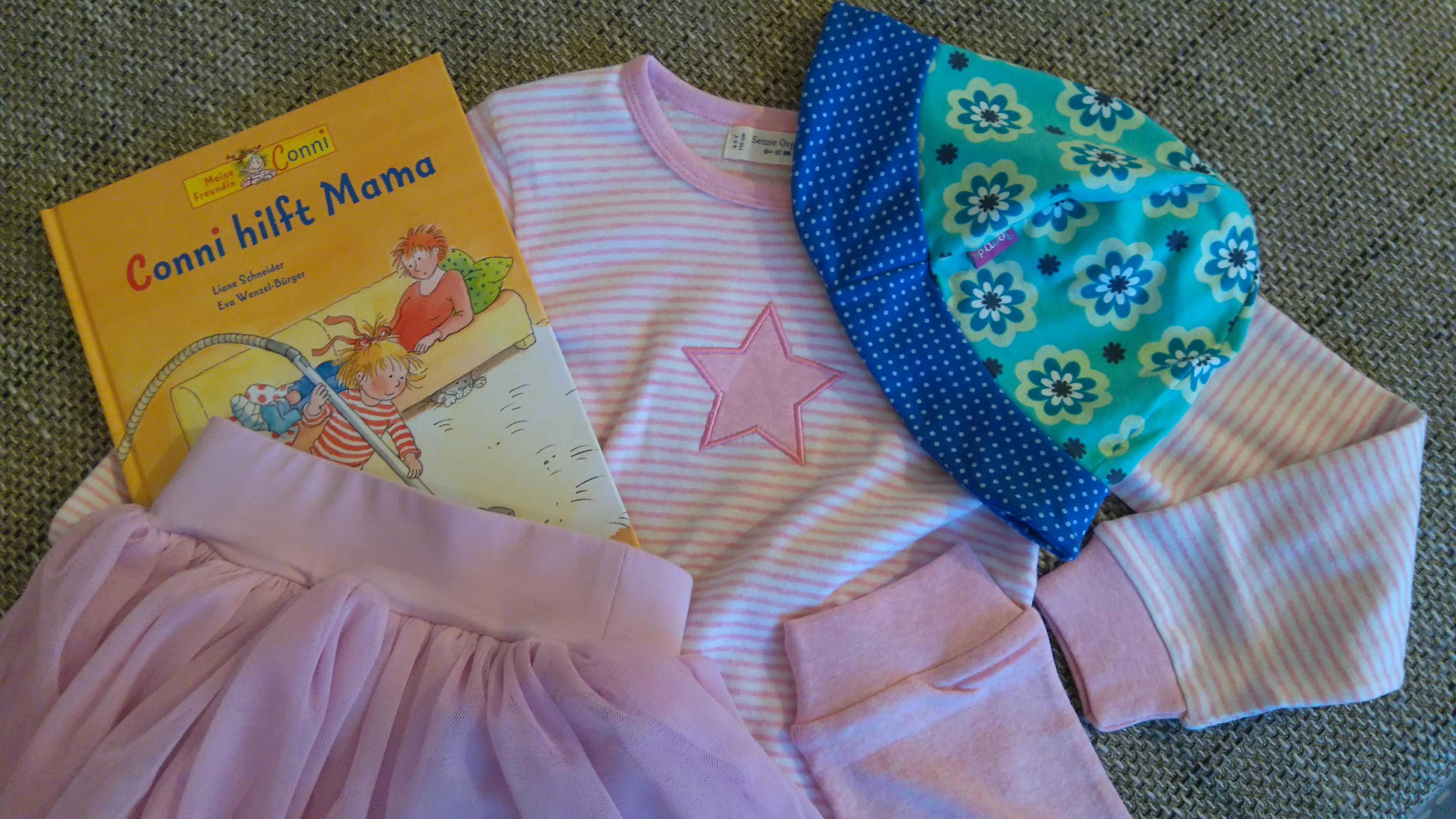 Loopidu Hut Pyjama Rock Emma und Paul Conni hilft Mama Buch
