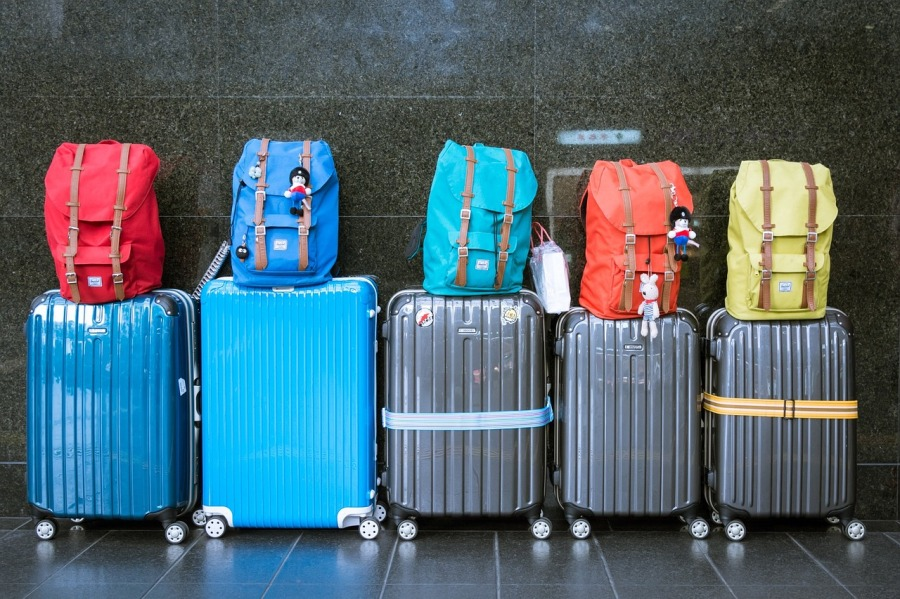Koffer Urlaub Holidays Reise