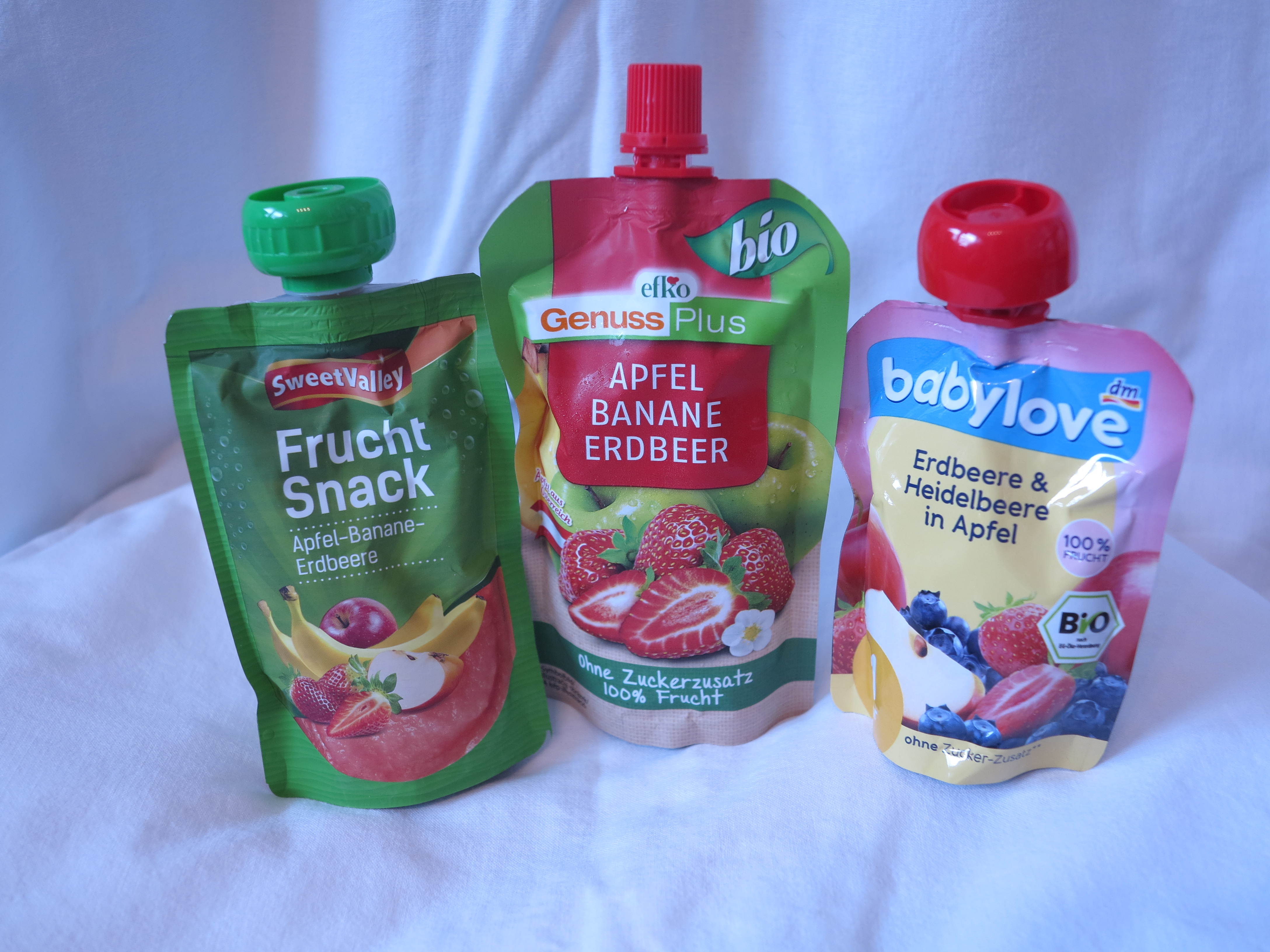 Quetschies Obstmus Efko Babylove SweetValley