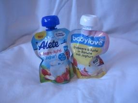 Quetschies mit Joghurt Babylove Alete