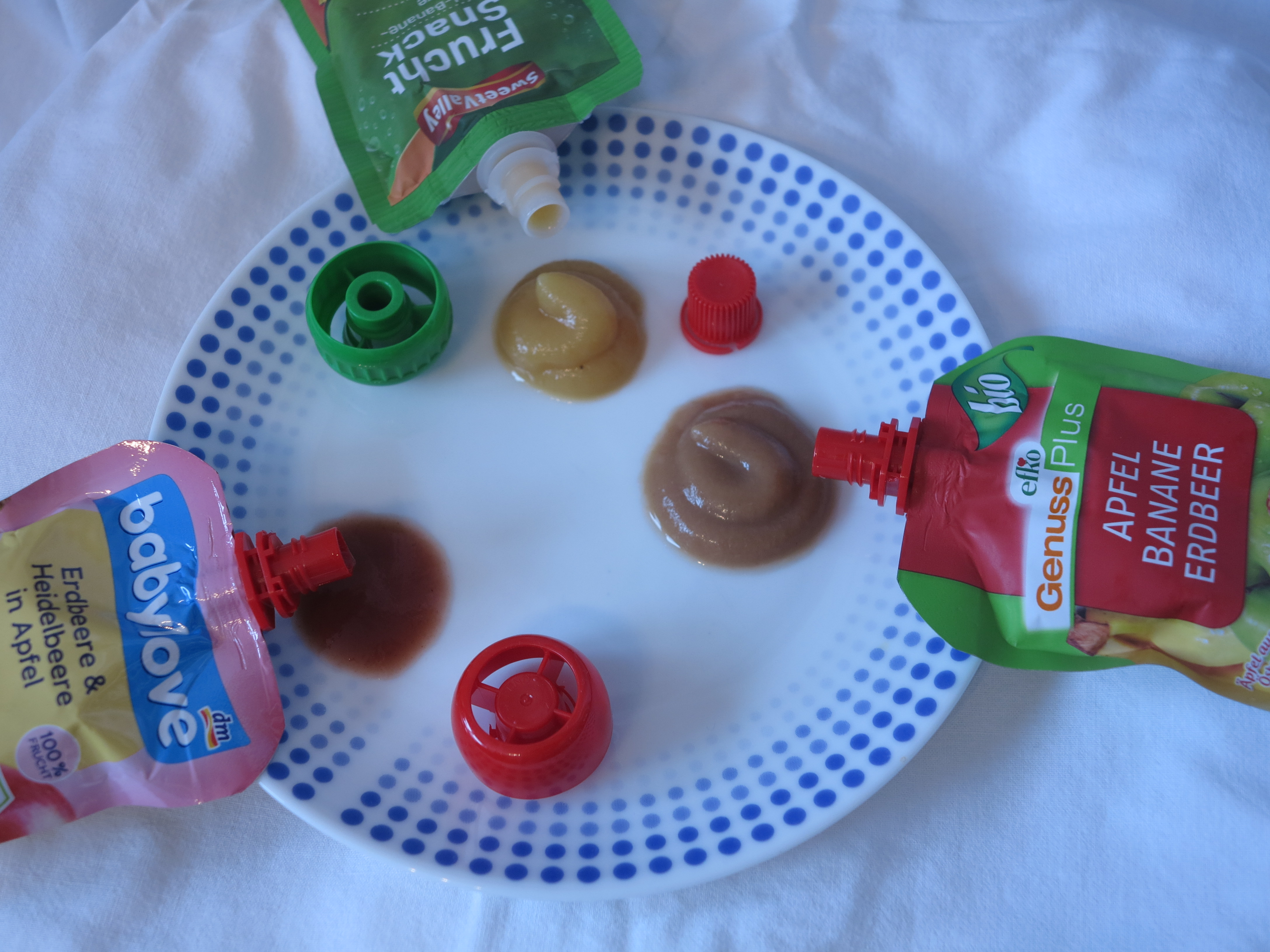 Quetschies Obstmus Efko SweetValley Babylove