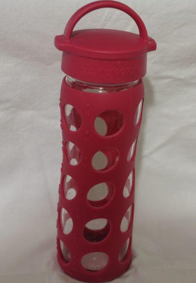 Life Factory Glasflasche Trinken kein Plastik Silikon