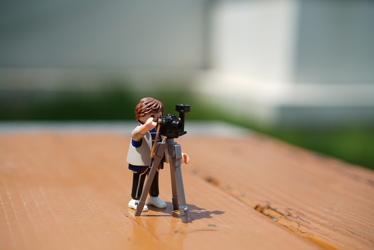 Foto Kamera Stativ Playmobil Ebook