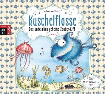 Kuschelflosse Zauber-Riff Unterwasser Riff Fellfisch Seebrillchen Qualle Kofferfisch Schwimmerdbeere