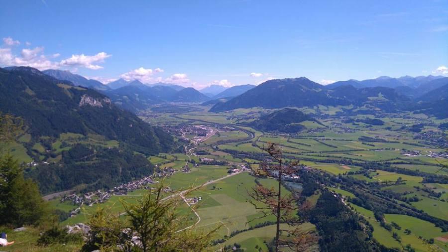 Aussicht Tressenstein Ennstal