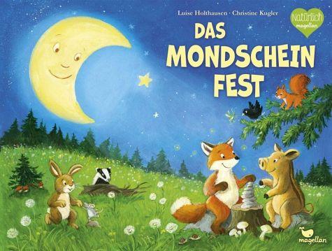 Mondscheinfest Tiere MondWald Fuchs Frischling Hase Dachs Eichhörnchen Amsel