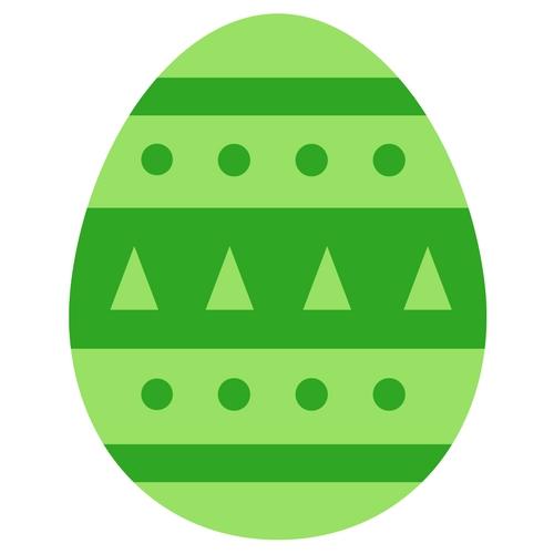 Osterei grün Osterüberraschung OSterhase