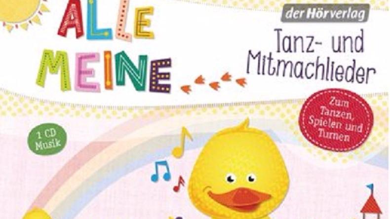 Kinderlieder Tanzlieder Mitmachlieder CD