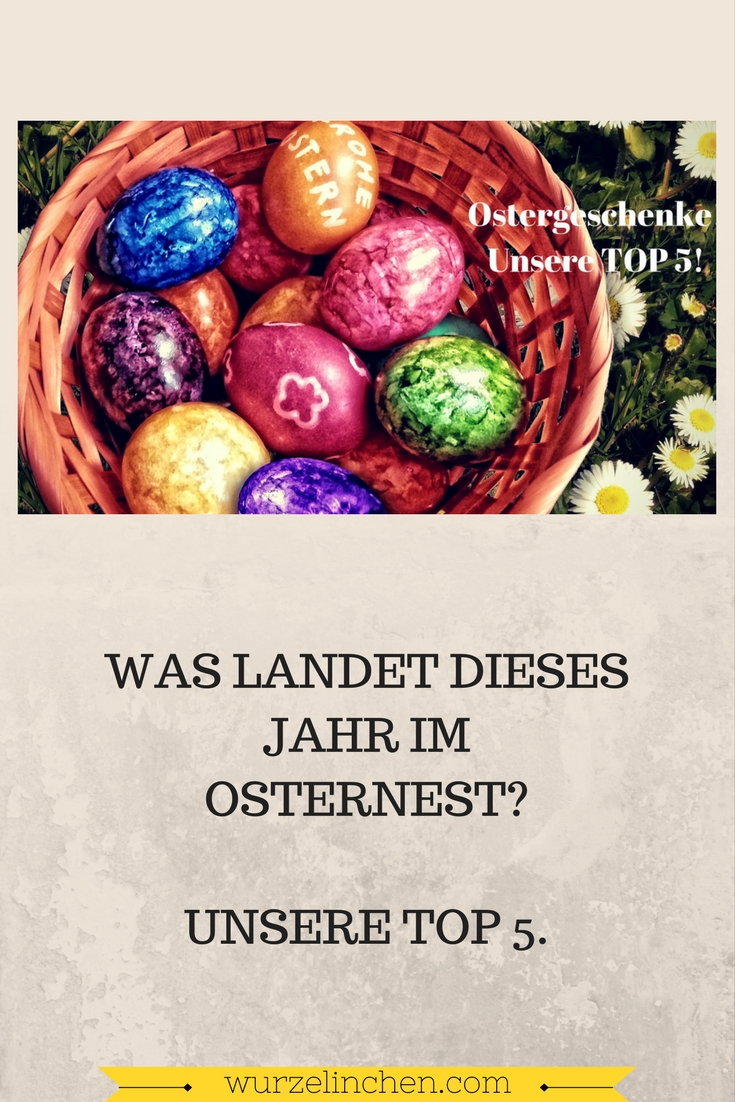 Osternest Ostergeschenke Osterhase Top 5