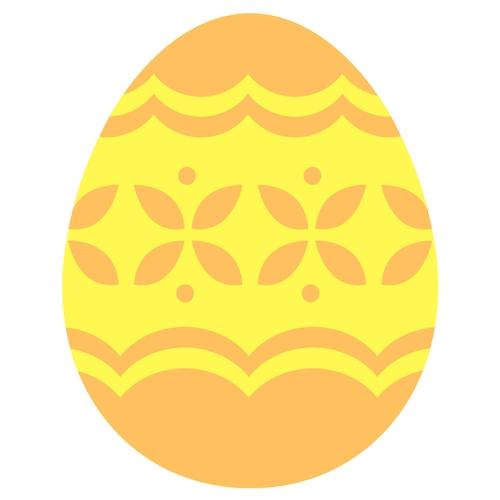 Osterei gelb Osterüberraschung