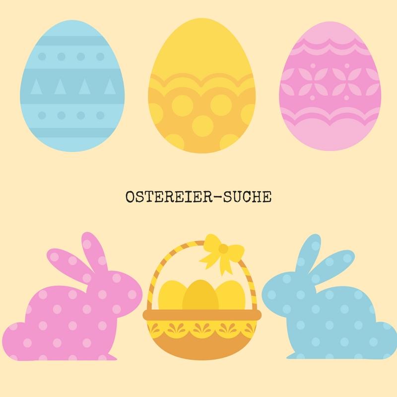 Ostereier Osternest Osterhase Easter Easter egg Easter bunny
