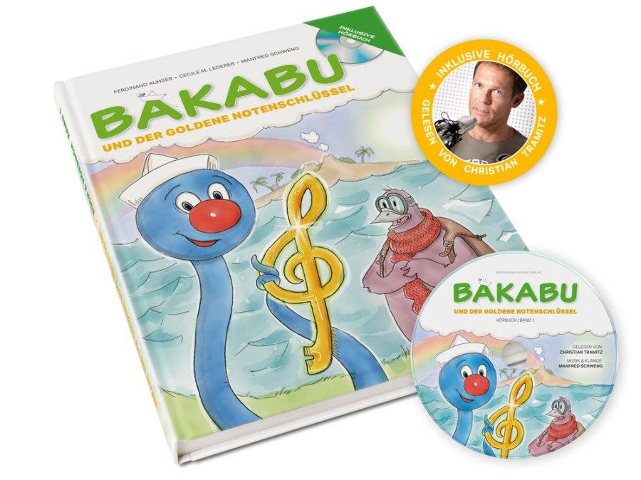 Bakabu und der goldene Notenschlüssel Hörbuch Tramitz