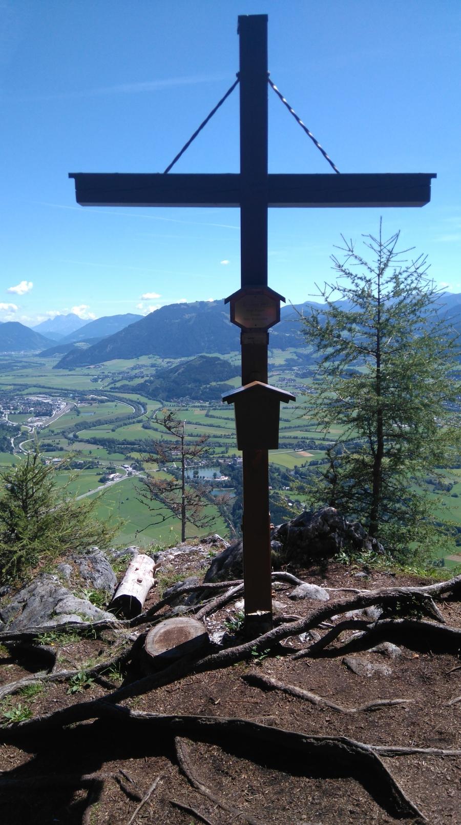 Tressenstein Gipfelkreuz