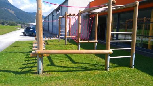 Niederöblarn Spielplatz Kletterparcours