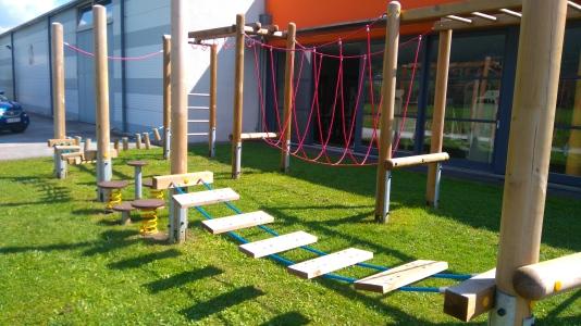 Niederöblarn Spielplatz Kletterparcours 2
